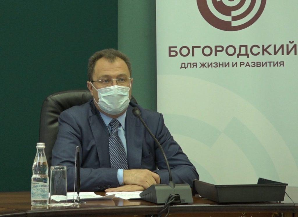Глава Богородского округа Игорь Сухин  сообщает  о ситуации с коронавирусом на территории округа